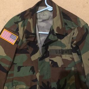 urban outfitters army camp jacket
